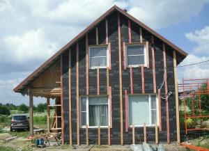 реконструкция дома в Серпухове