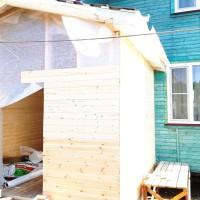 Строительство пристройки к дому в Серпуховском районе