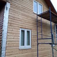Работы по внешней отделке (ремонту) деревянного дома